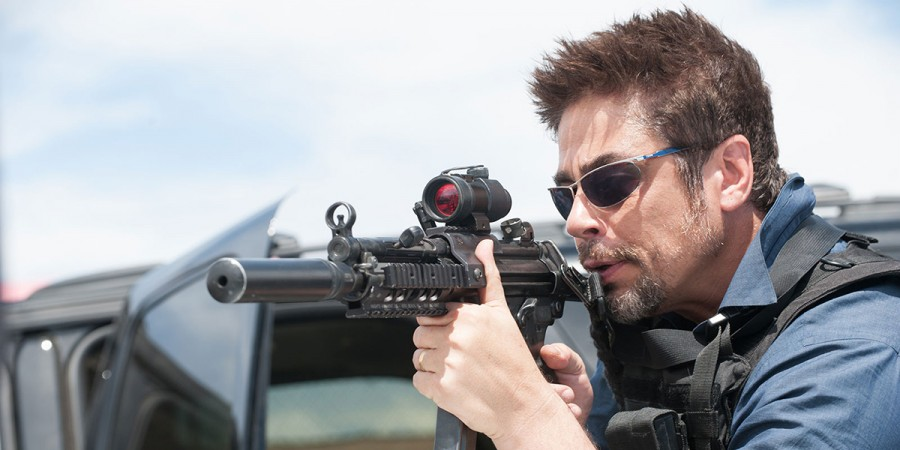 BENICIO DEL TORO STARS AS 'ALEJANDRO' IN SICARIO. PHOTO CREDIT: RICHARD FOREMAN
