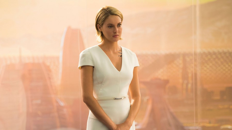 Shailene Woodley reprises her role as Tris in Allegiant. Read our Allegiant Review.