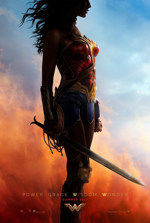 Wonder Woman poster and debut trailer at SDCC