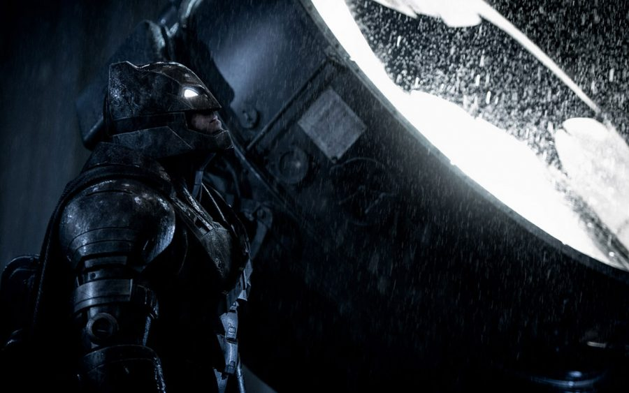 Batman v. Superman | Batman awaiting Superman