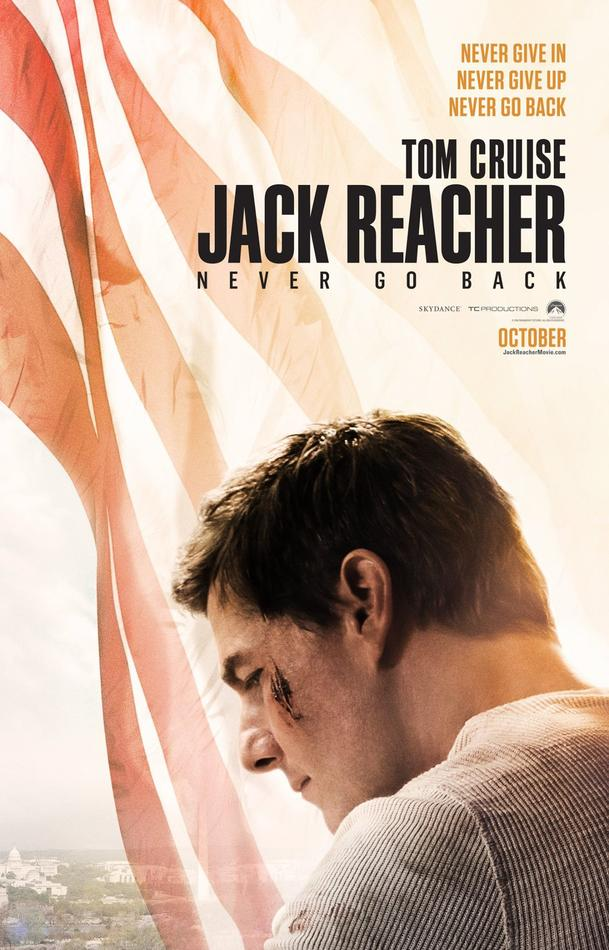 Official Poster for Jack Reacher: Never Go Back