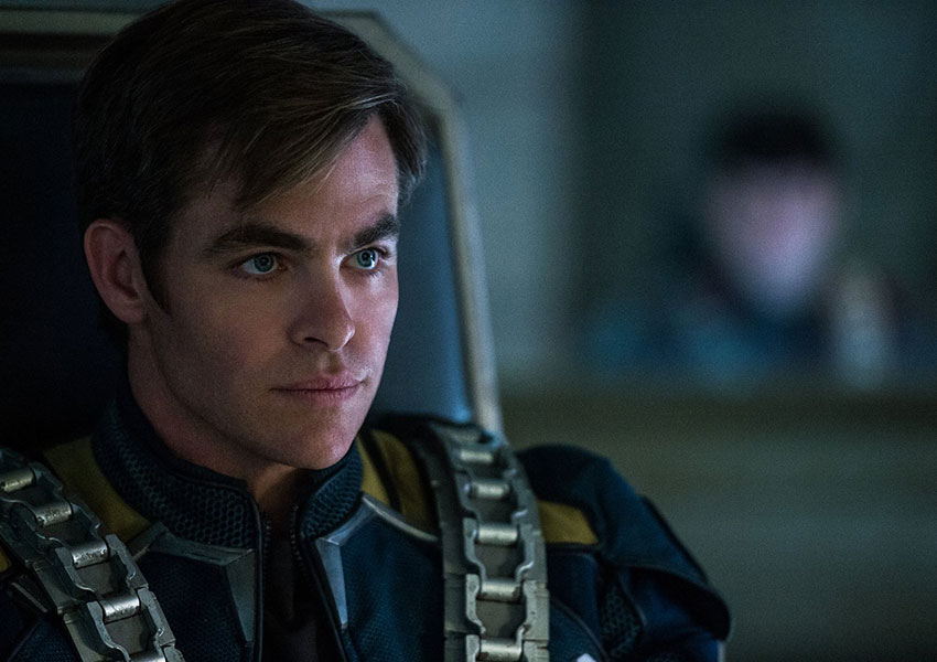 Captain Kirk encounters a powerful enemy in Star Trek Beyond
