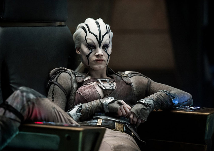 Newcomer Jaylah on Star Trek Beyond