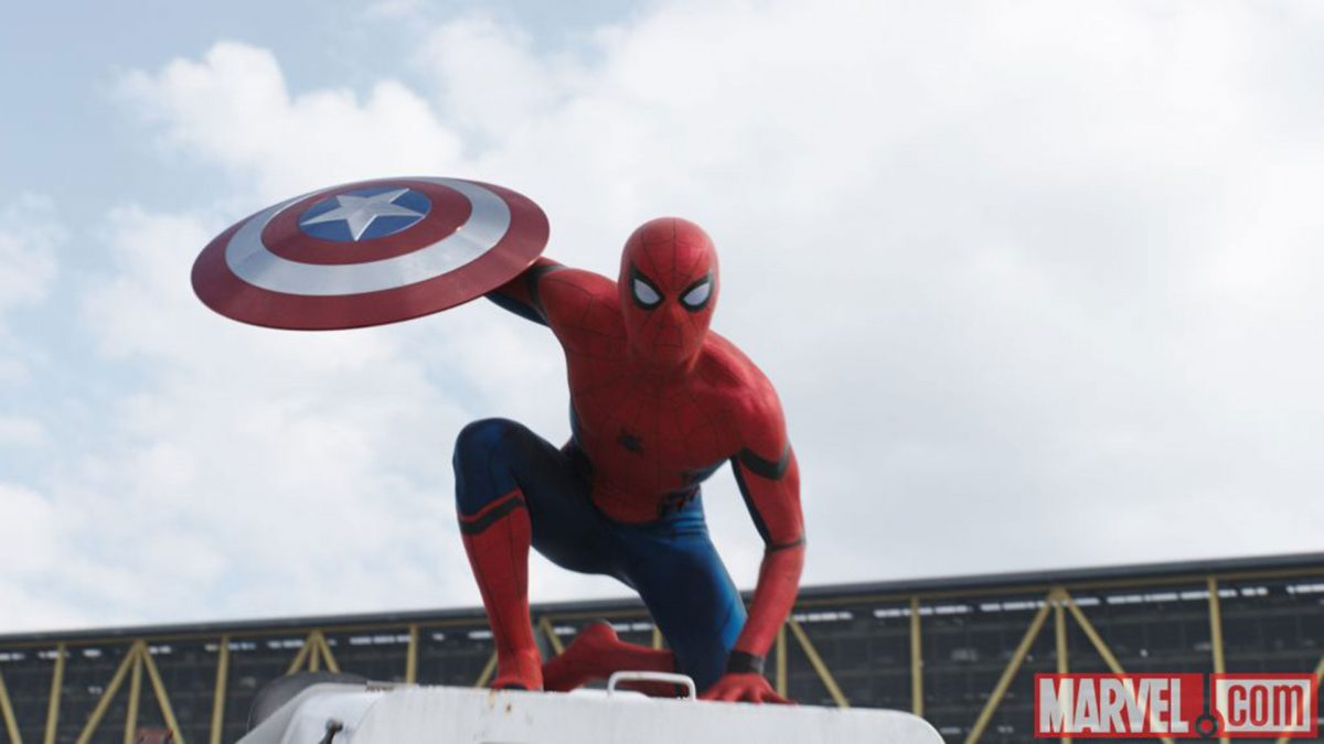Spiderman is revealed in the Civil War trailer