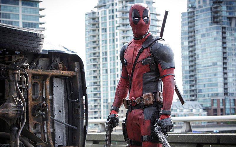 Deadpool takes down Francis and his thugs in Deadpool Movie