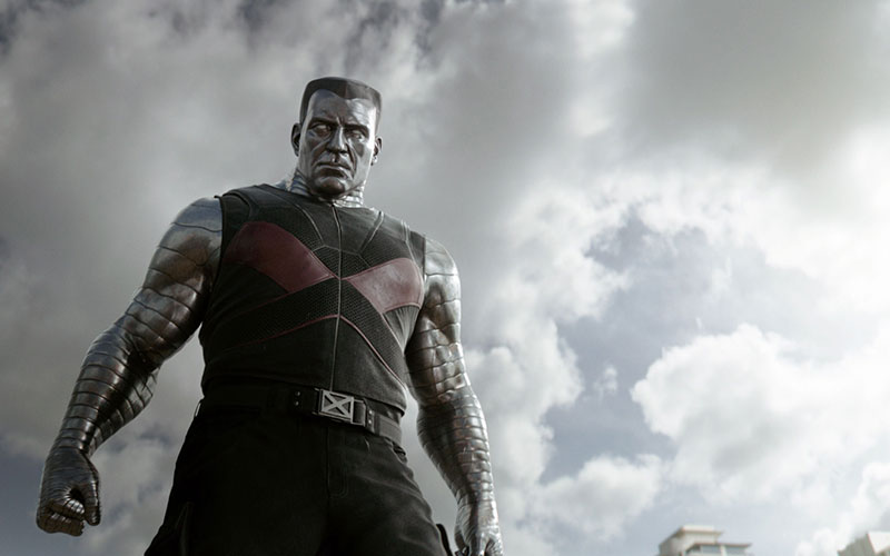 Colossus kicks butt in Deadpool Movie