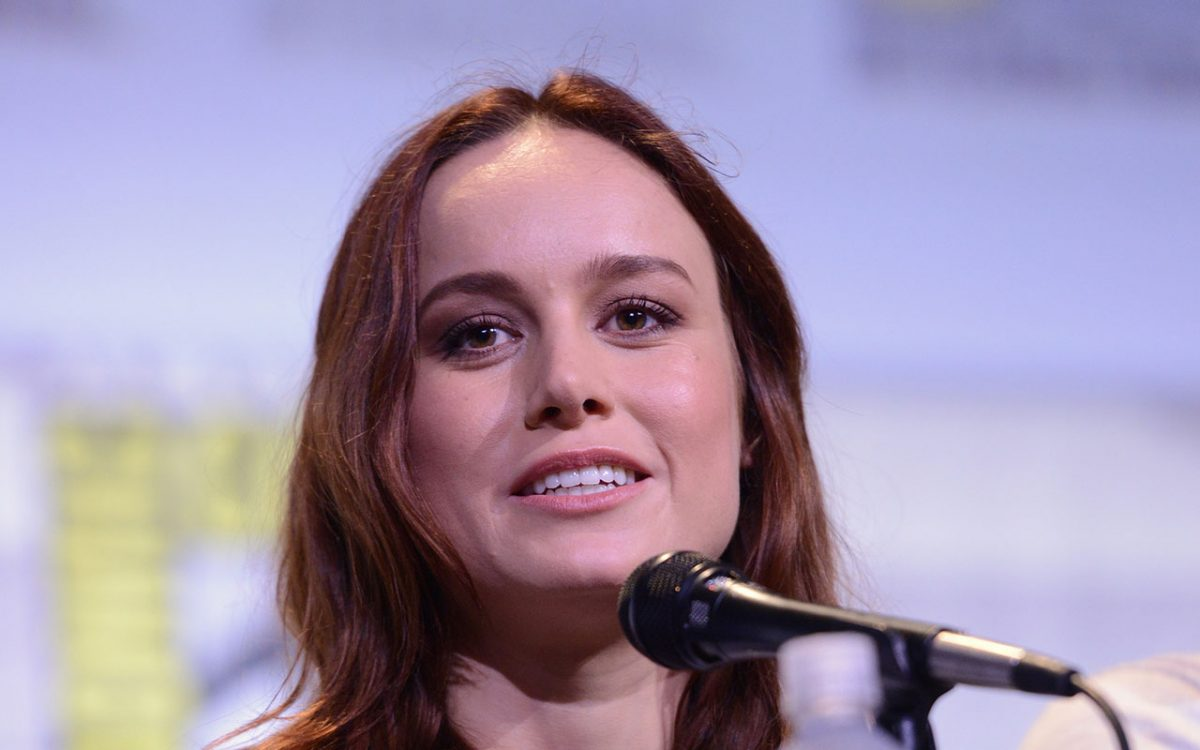 Brie Larson is officially Captain Marvel