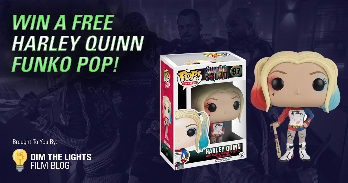 Suicide Squad Funko Pop Giveaway from Dim The Lights Film Blog