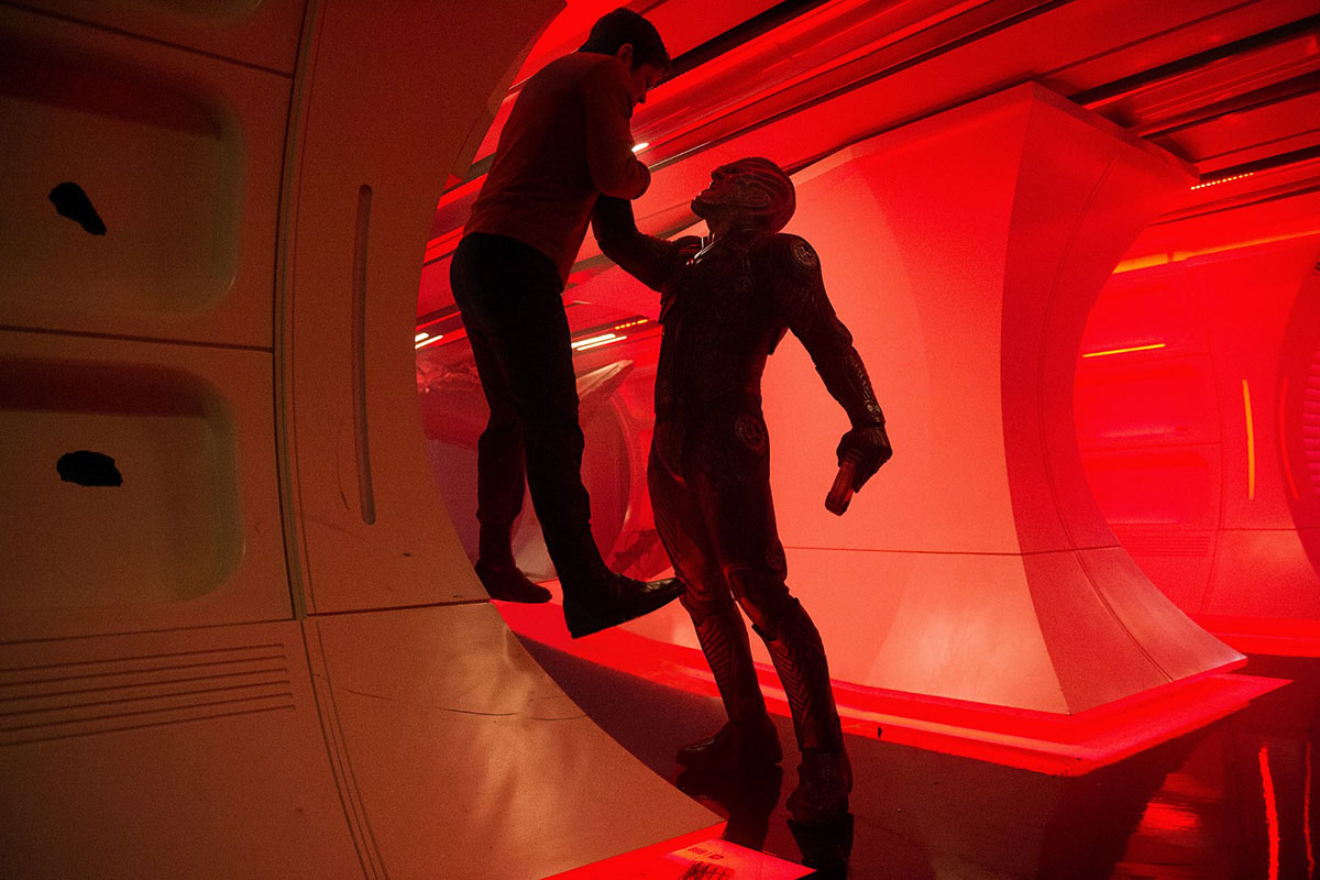 Krall wreaks havoc in Star Trek Beyond