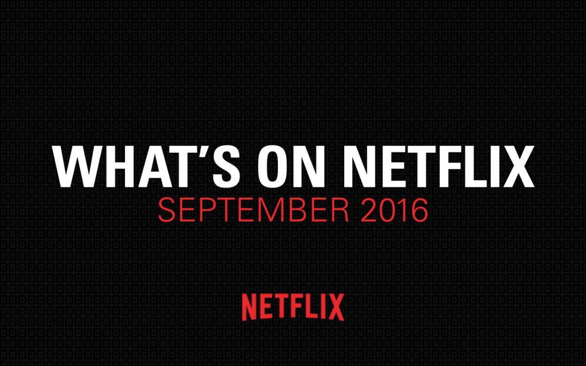 Netflix September 2016