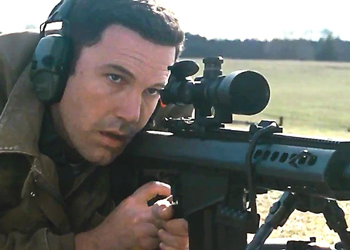 Ben Affleck trains in The Accountant